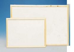 לוחות מחיקים עם מסגרת עץ