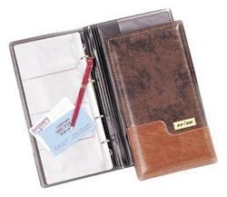 פנקס מהודר לכרטיסי ביקור 4 בדף