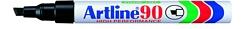 טוש ארטליין 90 עבה ראש איזמל - גוף מתכת