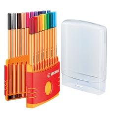 סט 10 עטים סטבילו - ראש לבד