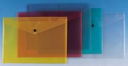 תיק מעטפה שקוף סגירת תיקתק A4