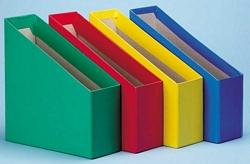 קופסא לקטלוג קרטון צבעוני