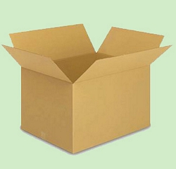 קופסאת קרטון ק.ד. 7 - 585X358X420 מ``מ