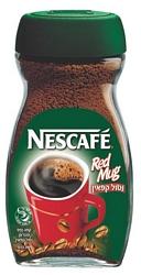קפה נמס Red Mug נסקפה נטול קפאין- 200 גרם