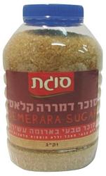 סוכר חום דמררה 1 ק'ג בצנצנת