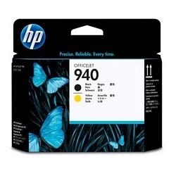 ראש הדפסה HP-940 שחור+צהוב C4900A