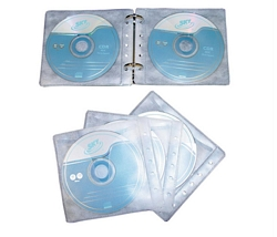 עטיפת PVC ל-CD 2 עם תיוק- 10דף