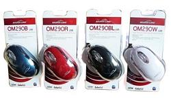 עכבר אופטי למחשב נייד OM290 SILVERLINE