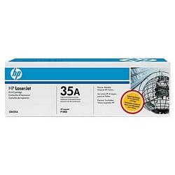 טונר למדפסות לייזר HP 35A  שחור (CB435A)
