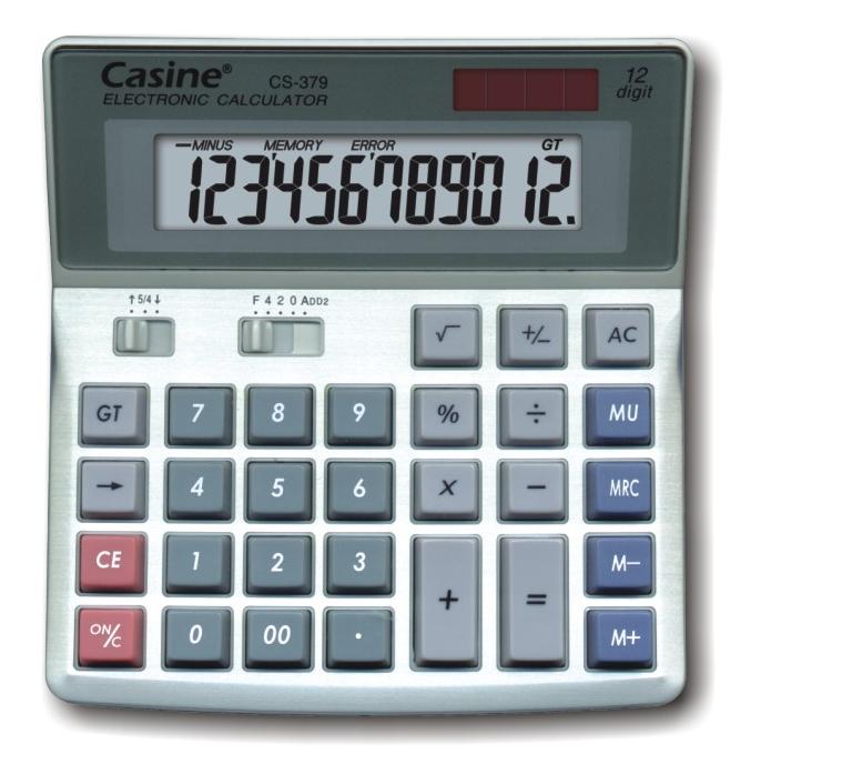 CS-379 מחשבון שולחני