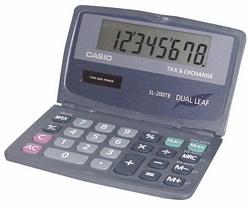 SL-200 מחשבון סולרי מתקפל 8 ספרות