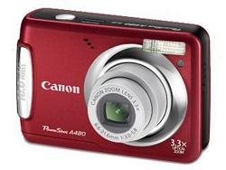 מצלמה דיגיטלית CANON POWERSHOT A480