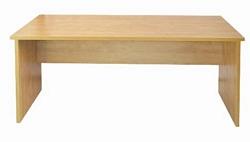 שולחן סנדי  28 מ``מ 180X80 קנט ישר
