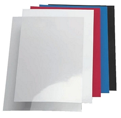 דף לכריכה דמוי עור - חבילה:100 יח'