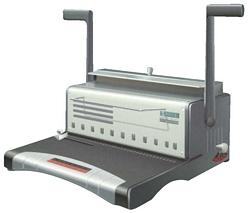 מכשיר כריכה לספירל מתכת 120 דף-QUPA דגם S-300