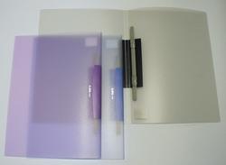 תיק+תיוק פלסטיק G444 A4 סלידר