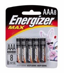 סט סוללות אצבע AAA אנרג'ייזר