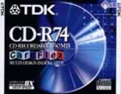 תקליטור 74 CD-R ד' TDK 24X