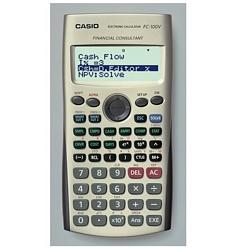 FC-100V מחשבון כיס פיננסי CASIO