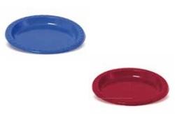 25 צלחות פלסטיק קטנות צבעוניות