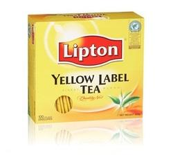 תה ליפטון 100 יח' רגיל