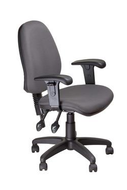 כסא עובד ריאל עם ידיות מתכוננות
