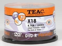 25 יח' תקליטור DVD-R פרינטיבל