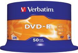 דיסקים DVD-R 4.7BG ורבטים