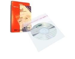 100 עטיפת ניילון דביקות ל-CD