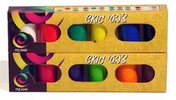צבעי גואש סט 12 צבע 22 מ'ל