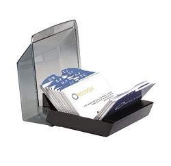 רולדקס שטוח עם מכסה ל-200 כרטיסי ביקור