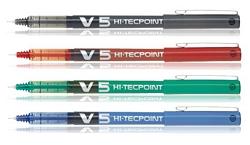 עט טוש פיילוט V5 - ראש סיכה-0.5 מ``מ